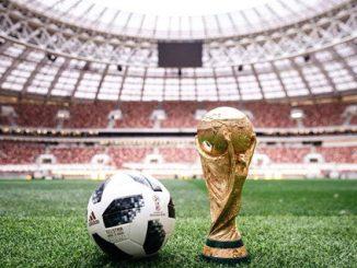 2018 Rusko Světový pohár stadion průvod