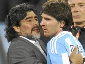Argentinaprezident myslí Messiho než Maradonu lépe
