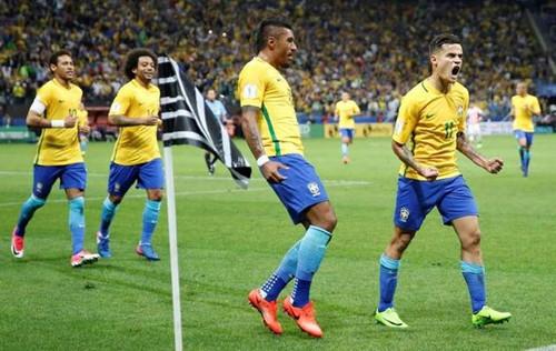 Brazílie je jedním z nejlepších týmů v soutěži Světového poháru v roce 2018