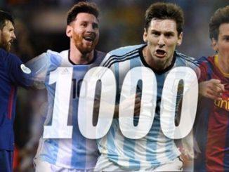 Messi zaznamenal 1000 gólů ve fotbalové kariéře